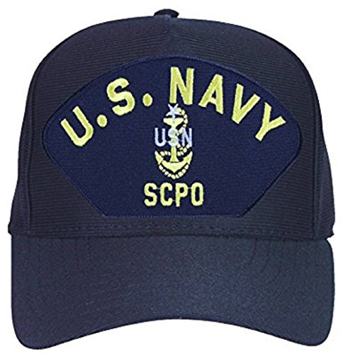 Eagle Crest U.S. Navy Anchor Senior Chief Petty Officer Scpo Cap Hat