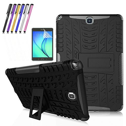Super Slim Cover for Samsung Galaxy Tab A 8-Inch Tablet SM-T350 (Black) - 1