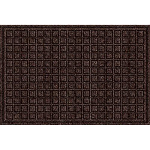 Walnut Block (Textures Blocks Entrance Mat, 2-Feet by 3-Feet, Walnut)