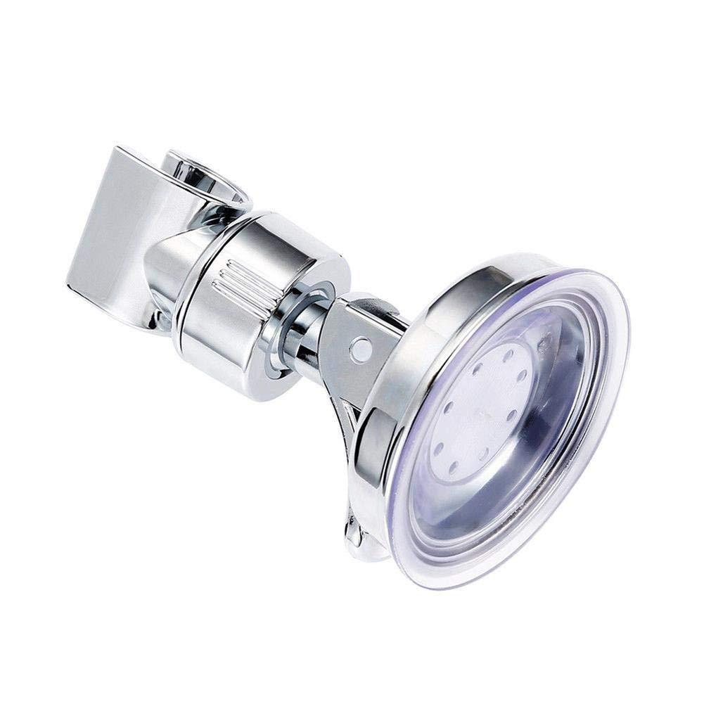 LIWEISDSDFS Shower Head Handset Holder Rack Bracket Suction Cup Adjustable Shower Holder Wall Mounted Shower Holder For Bathroom Accessory