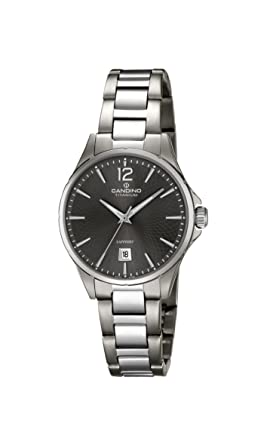 Quarz Candino Titan Klassisch Damen C46083 Uhr Armband Mit Datum USVqMGzp