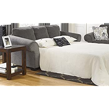 "Amazon Levon Collection 96"""" Queen Sofa Sleeper with"
