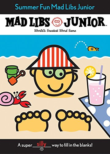Summer Fun Mad Libs Junior (Learning To Tell Time Worksheets For Kindergarten)