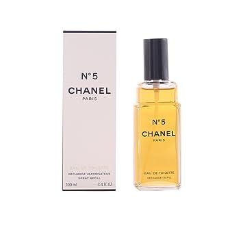 chanel no 5 eau de parfum. chanel no. 5 eau de toilette refill 100 ml no parfum