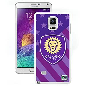 Beautiful And Unique Designed Case For Samsung Galaxy Note 4 N910A N910T N910P N910V N910R4 With Orlando City Sc 01 White Phone Case