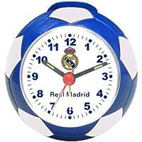 142| RELOJ DESPERTADOR REAL MADRID EN FORMA DE