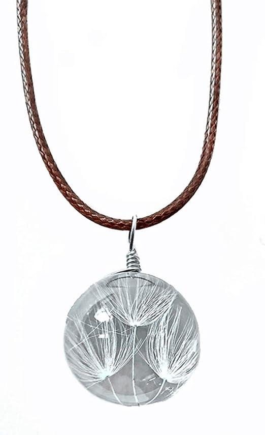 Bigsweety - Collar de cristal con diseño de botella de diente de ...