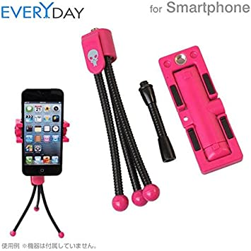 AGOR COLLECTION Everydat Smartphone Holder and Tripod (Pink ...