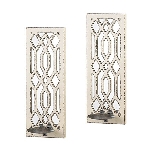 Gallery of Light 10017331 Deco Mirror Wall Sconce Set, Multicolor