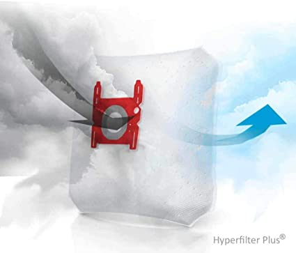 SpareHome 10 Bolsas + 2 microfiltros recortables para Aspirador Ufesa AS2200: Amazon.es: Hogar