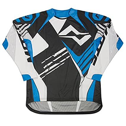 Mots MT2105LA Trial Rider Camiseta, Azul, Talla L Moting Parts s.l.