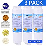 ICEPURE GXRLQR Water Filter Replacement for GE GXRLQR,FQSLF,FQSV Fand Lock In-Line GXRLQR, 3PACK