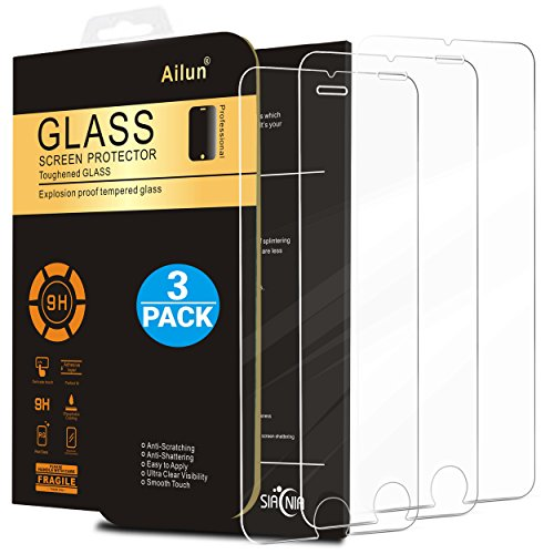 iPhone 6s Screen Protector,iPhone 6 Screen Protector,[3 Pack]by Ailun,Tempered Glass for 4.7inch...