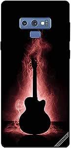 Case For Samsung Galaxy Note9 - Guitar Reflecation In Dark