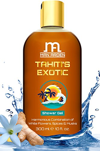 Man Arden Tahiti's Exotic Luxury Shower Gel Body Wash – 300 ml
