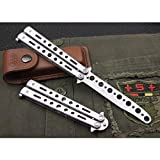 Practice Butterfly Knife Balisong Trainer Stainless