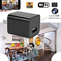 Hidden Spy Camera 720P Wifi Nanny Cam Indoor Security Surveillance Cameras