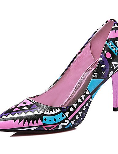 Pink Uk6 casual negro De Uk3 tacones us8 Eu39 tacones Stiletto sint¨¦tico Fiesta Mujer us5 Noche Zapatos Cn35 Rosa tac¨®n Zq Pink 5 5 Y Eu36 Cn39 6x7TnT