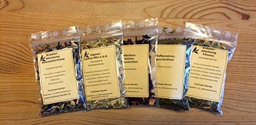 TeeTeam Kräutertee - Tee Probierset, Probier Set, Kräuter Tee, 50 g