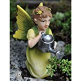 Fiddlehead Fairy Village – Gardening Fairies – Watering Fairy For Sale