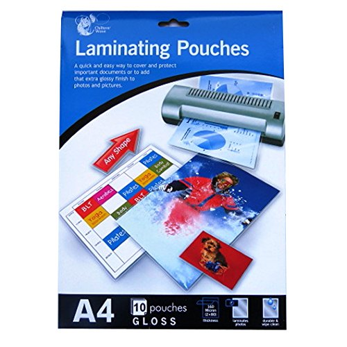 A4 Laminating Pouches - 11.9' X 8.5' - Pack of 10