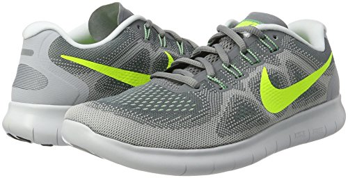 Punch Nike Hombre 2 volt Black Free Gris hot Green ghost Sneakers Grey cool wolf Grey Rn qpwpHfBa