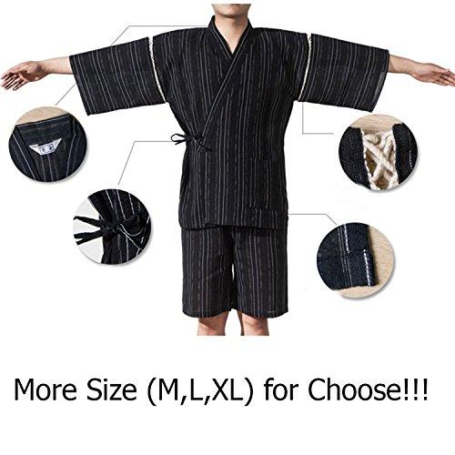 Jinbei Men's Fancy Dressing Pigiama Japanese Suit Kimono 13 Xl Pumpkin Style PP5xqBw