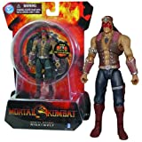 Mortal Kombat Jazwares Year 2012 20th Anniversary Series 4 Inch Tall Action Figure - Native American Shaman NIGHTWOLF with 15 Points of Articulation Plus Bow and Arrow