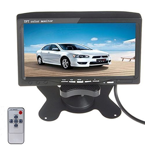 eBoTrade 7'' HD 800*480 TFT Color LCD Screen 2 Video Input Car (Rear Seat Video Display)