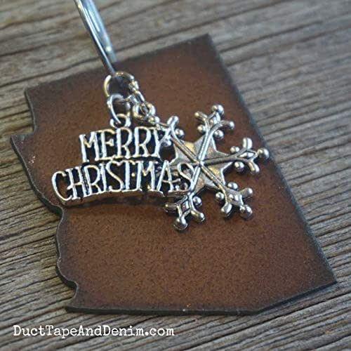 "Amazon.com: ARIZONA Christmas Ornament 2"" inch, Gift Boxed ..."