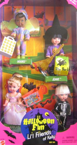 Barbie KELLY Halloween Fun Lil Friends of Kelly Gift Set - Target Special Edition (1998) -