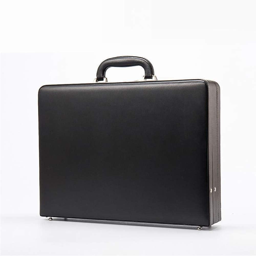 MIJNUX Mens Business Box Civil Servants Flight Attendant Air Lock Box Portable Briefcase