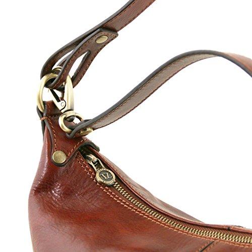 81414794 - TUSCANY LEATHER: SABRINA - Sac boule en cuir, Rouge
