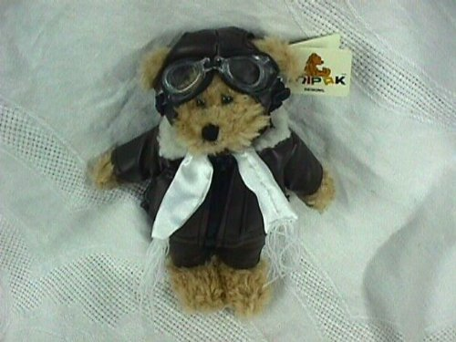 Aviator Bear - Unipak Teddy Bear Pilot (Aviator) Plush Toy