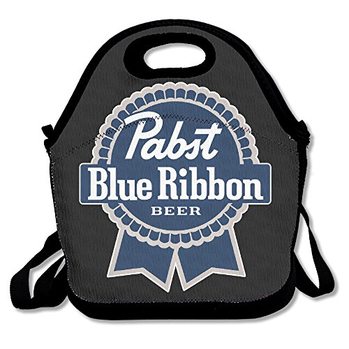 Pabst Blue Ribbon Logo Lunch Box Bag For Kids And Adult,l...