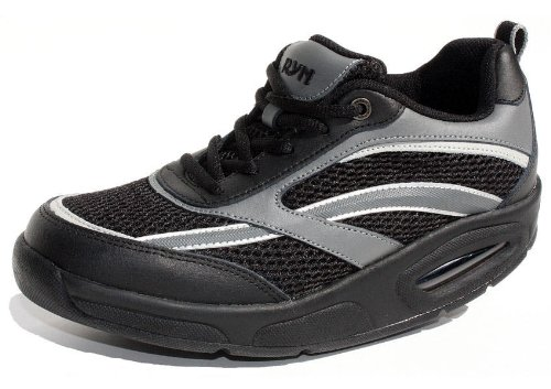 Image of Ryn X-Run Athletic Shoe - Unisex (7 (M) US Women's, Black)