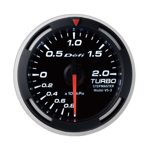 Defi DF06506 Racer Boost Metric Gauge, (Metric Boost)