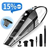 VacLife Handheld Vacuum, Hand Vacuum Cordless with High Power, Mini Vacuum Cleaner Handheld powered by Li-ion Battery Rechargeable Quick Charge Tech, for Home and Car Cleaning, Wet & Dry