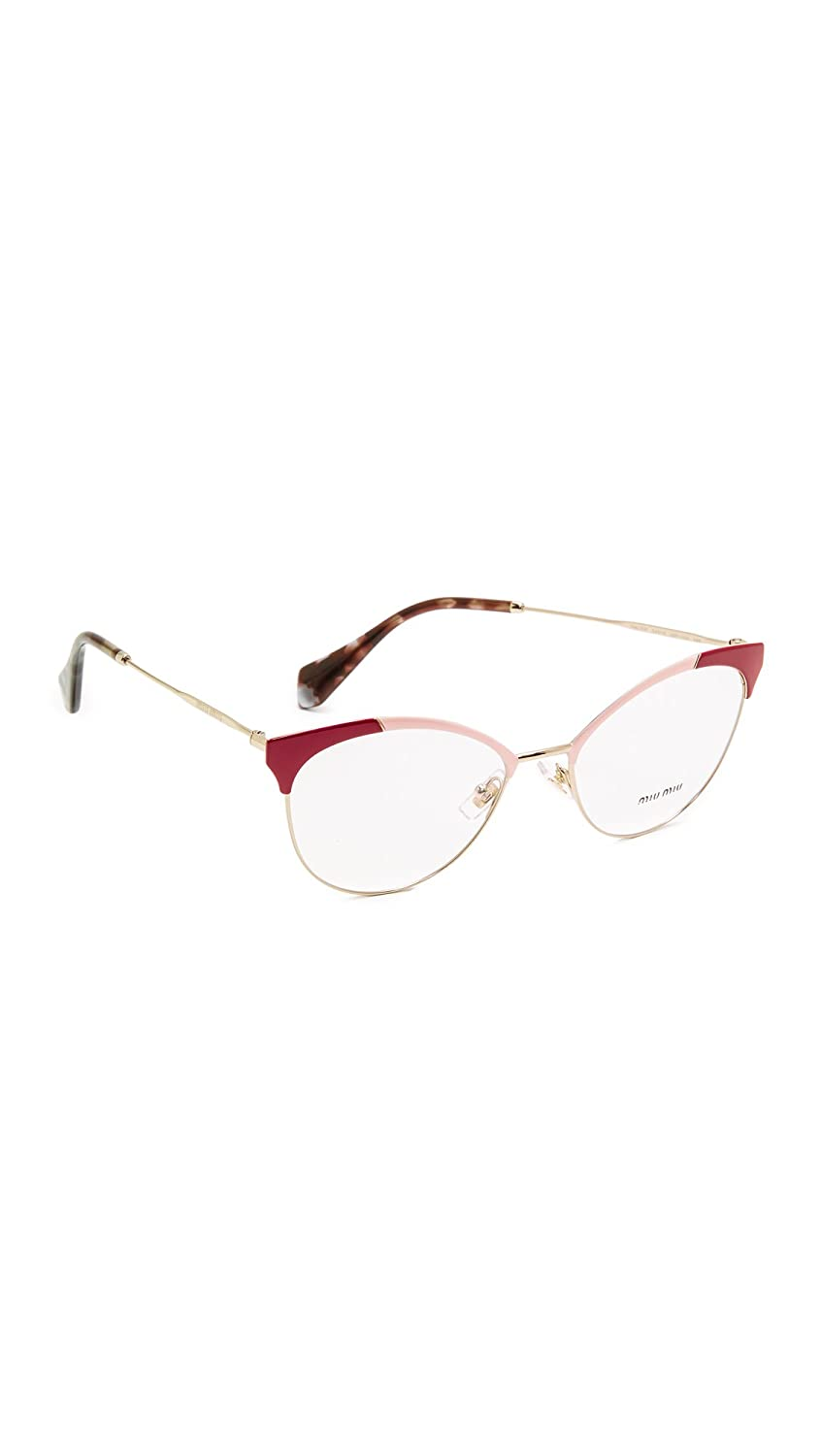 239973a0137 Amazon.com  Miu Miu Women s Colorblock Glasses