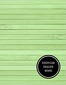 amazon used car dealer book vehicle sales log journals for all