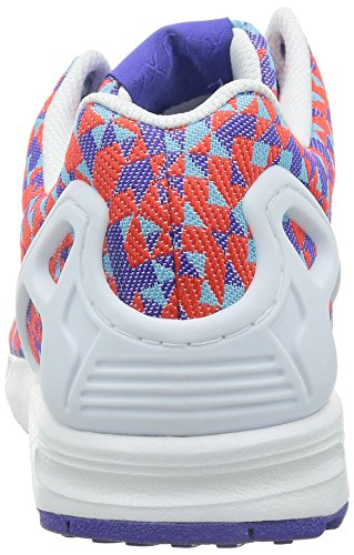 Flash Zx A core Black night Sneaker donna S15 Multicolor Collo Flux White Basso Uomo Weave Adidas ftwr qPIqd