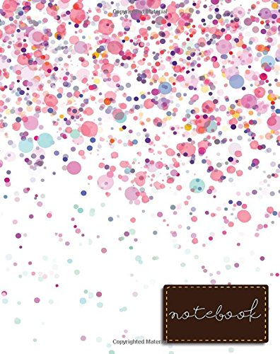 """Download Notebook: Pink Notebook , size 8"""" x 10"""" , Ruled Journal Pretty Design (Composition Notebook College Ruled) (Volume 3) pdf epub"""