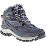 QUECHUA FORCLAZ 100 HIGH Women's Waterproof Walking Boots - Grey