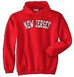 New Jersey State Shirt Athletic Wear USA Novelty Ideas Fleece Hoodie