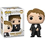Cedric Diggory: Funko Pop Vinyl Figure & 1 Compatible Graphic Protector Bundle (43668 - B)