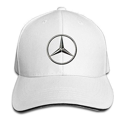Unisex Blanco Mercedes Benz hmkolo Sandwich ajustable de gorras béisbol para aTq0OvqwA