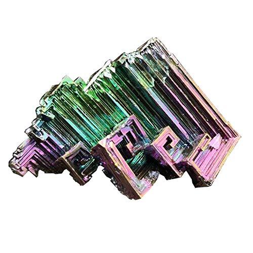 Bismuth Crystal 1.1 oz (30g+) Specimen Decoration Mineral Earth Science Minerals Collection Bismuth Crystal Samples (Bismuth)