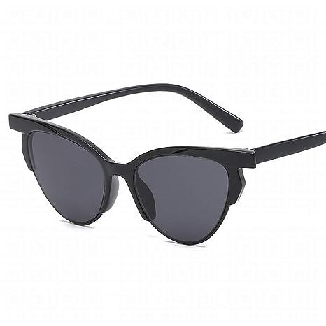 Igspfbjn Gafas de Sol con Forma de Ojo de Gato, Unisex ...