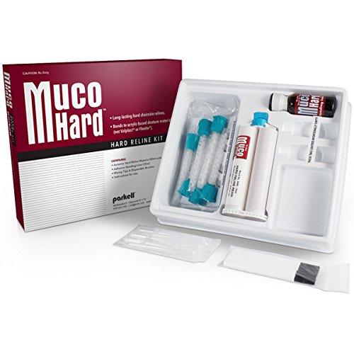 MucoHARD Hard Reline Kit, Translucent Pink, 50ml Cartridge