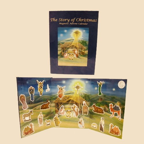 Kurt Adler The Story of Christmas Interactive Magnetic Advent Book ()